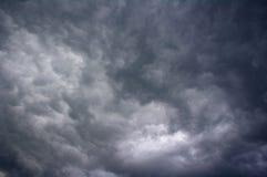 在thunderhead下,蒂瓦特,黑山 免版税图库摄影