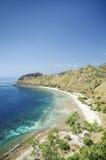 在timor附近的海滩帝力东部leste 免版税库存图片