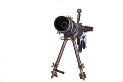 在Tirpod的枪 免版税库存照片