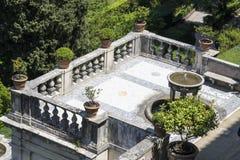 在Tivoli的别墅d'Este,意大利 图库摄影
