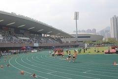 在tko运动场的……The第6场香港比赛 免版税库存图片