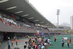 在tko运动场的第6场香港比赛 免版税库存照片