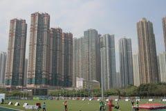 在tko运动场的第6场香港比赛 库存图片