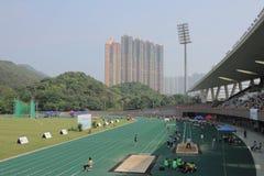 在tko运动场的第6场香港比赛 免版税库存图片