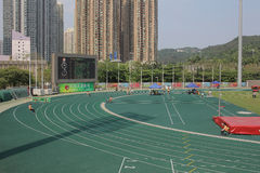 在tko运动场的第6场香港比赛 库存照片