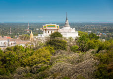 在topof山, Phra洛坤Kh建筑细节的寺庙  库存图片