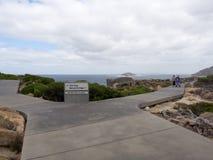在Torndirrup国家公园,西澳州的轮椅友好的道路 免版税库存图片
