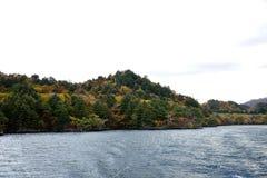 在Towada的秋天 库存图片