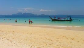 在Trang,泰国的旅行 库存图片