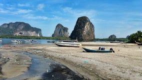 在Trang,泰国的旅行 免版税图库摄影