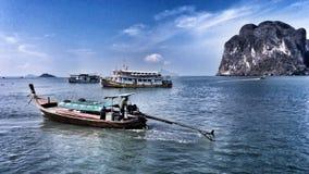 在Trang,泰国的旅行 免版税库存图片