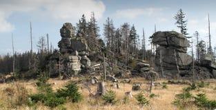 在tristolicnik附近的dreisesselberg 免版税库存照片