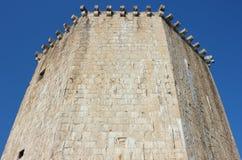 在Trogir的Veriga塔 免版税库存照片