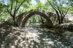 在Troodos山的威尼斯桥梁在塞浦路斯 免版税库存照片
