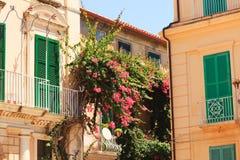 在Tropea的结构 免版税库存照片