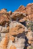 在Truitjieskraal的岩层塞德伯格山的 免版税库存照片