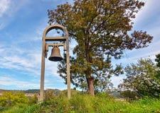 在Tsarevets的老响铃 库存照片