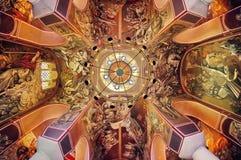 在Tsarevets里面教会  免版税库存照片