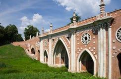 在Tsatitsino的桥梁 免版税库存图片