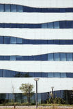 在Tuborg港口的现代丹麦建筑学 图库摄影