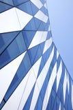 在Tuborg港口的现代丹麦建筑学 免版税库存照片