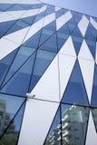 在Tuborg港口的现代丹麦建筑学 免版税图库摄影