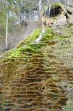 在Tuefels智利的凝灰岩 库存图片