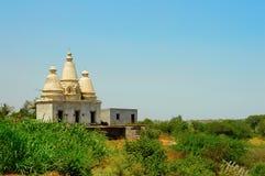 在Tulapur的小寺庙 库存照片