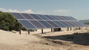 在Turkey2的太阳能电池系统 股票视频