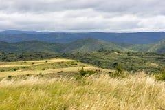 在Ujue附近的风景 免版税库存图片