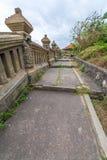 在Uluwatu寺庙巴厘岛印度尼西亚的风景 库存照片