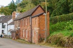 在Usk,波伊斯,威尔士,英国的Talybont 库存照片