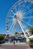 在V&A江边的海角轮子在开普敦 库存照片