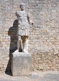 在Vaison La长叶莴苣,普罗旺斯,法国的广泛的罗马废墟 库存照片