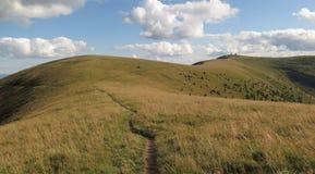 在Velka Fatra山的Krizna山在斯洛伐克 免版税库存照片