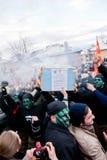 在VEVCANI,马其顿的狂欢节 图库摄影