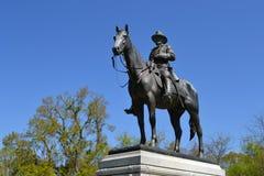 在Vicksburg的尤利西斯・辛普森・格兰特纪念品 免版税库存图片