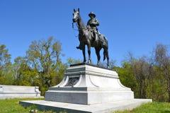 在Vicksburg的尤利西斯・辛普森・格兰特纪念品 免版税库存照片