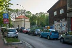 在Visnjiceva街道上的清真寺 库存照片