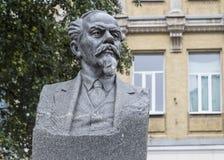 在vladimir,俄联盟的雕塑 库存照片