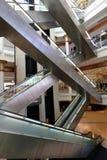 在Wafi购物中心,迪拜的自动扶梯 库存照片