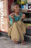 在Wagomenge弗洛勒斯印度尼西亚的居民 免版税库存照片