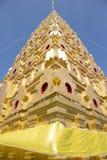 在Wangvivagegaram寺庙的Bodhgaya式stupa 库存图片
