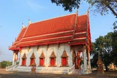 在Wat潜逃Bua的寺庙 图库摄影