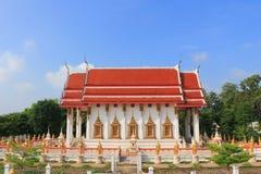 在Wat的寺庙在Kanlaya 免版税库存图片