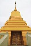 在Wat色那Nimit的Stupa 库存照片
