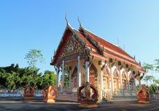 在wat chula jindaram的寺庙 库存图片