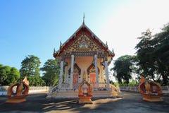 在wat chula jindaram的寺庙 免版税库存照片