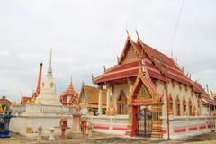 在Wat khun thip的寺庙 免版税库存图片