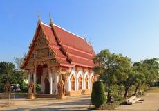 在Wat lumphaya的寺庙 库存图片